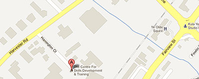 Community Development Halton on google map