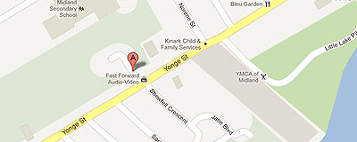 Community Reach North Simcoe on google map