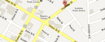 Volunteer Action Centre of Kitchener Waterloo and Area on google map