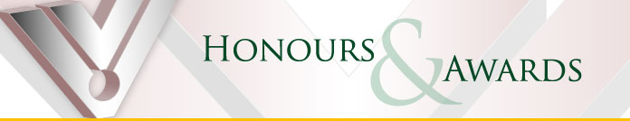 Ontario Honours and Awards Banner