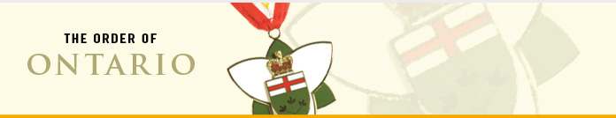 Order of Ontario Banner
