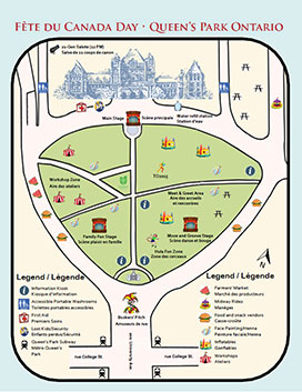 Queen's Park Map and Program