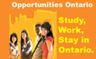 Study, Work, Stay: Opportunities Ontario